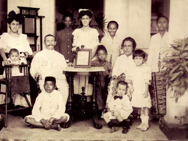 Familie Blauw foto