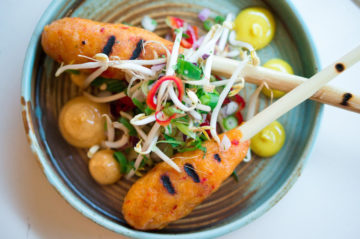 indonesisch restaurant blauw eten