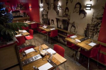 Restaurant Blauw Utrecht interieur