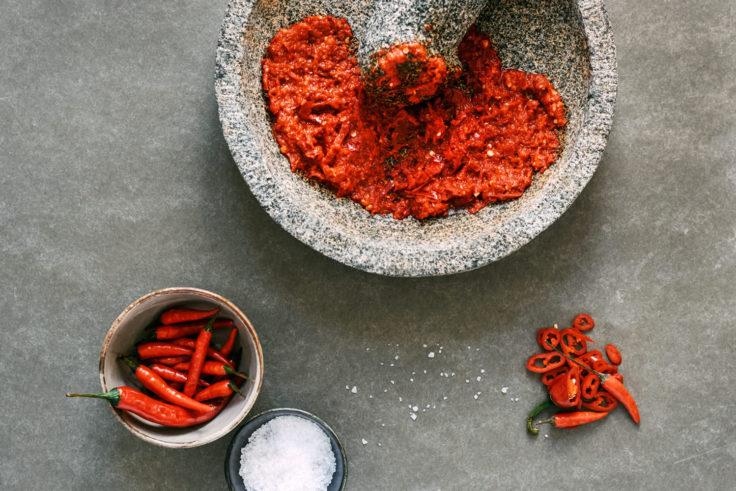 sambal workshop restaurant blauw