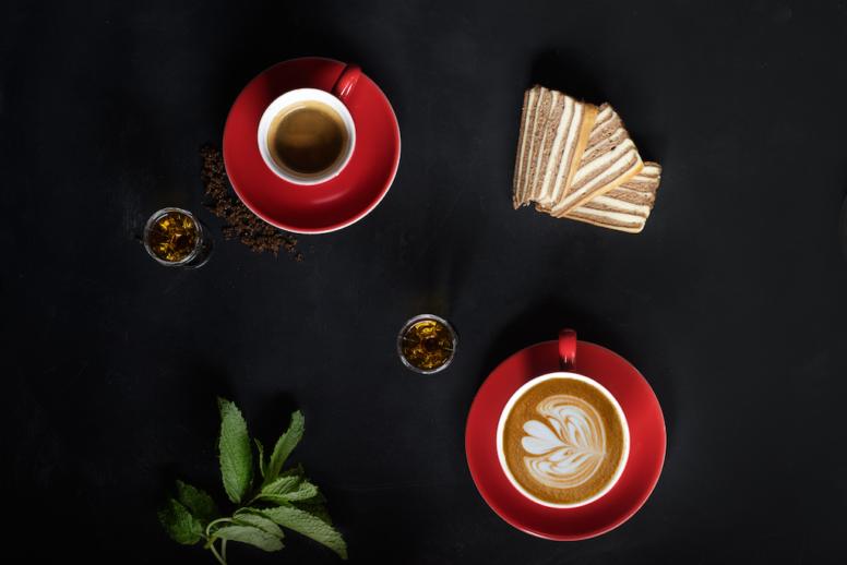 Koffie & Cappuccino restaurant Blauw