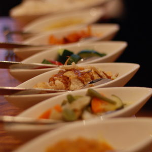 rijsttafel blauw